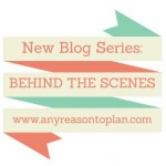 New Blog Series